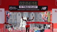 Kein Weltrekord beim Marathon in London