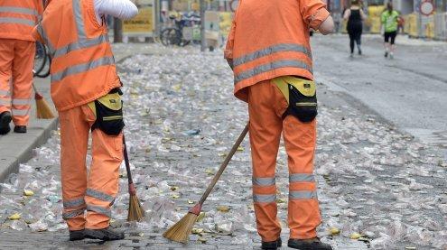 Putzaktion für ein sauberes Wien