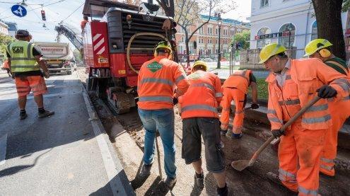 Gleisbauarbeiten: Ring-Sperren