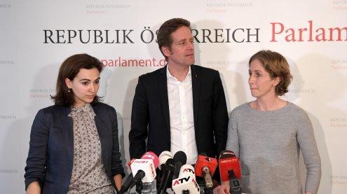BVT: Gemeinsamer U-Ausschuss-Antrag von SPÖ, NEOS, Liste Pilz