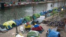 Frankreich will Zeltlager räumen lassen