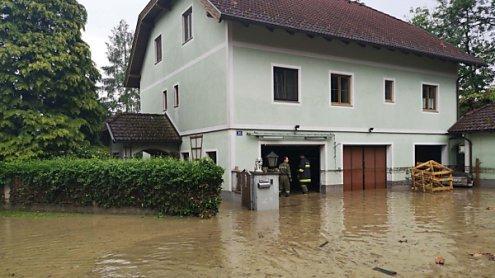 Überschwemmungen und Muren: Schwere Unwetter in Österreich