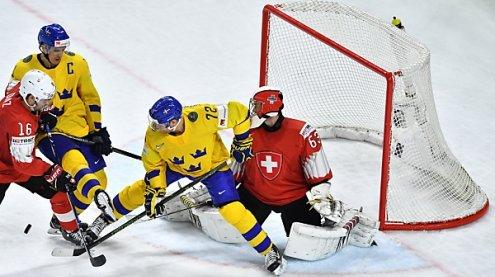 Schweden holte Eishockey-WM-Titel erst im Penaltyschießen