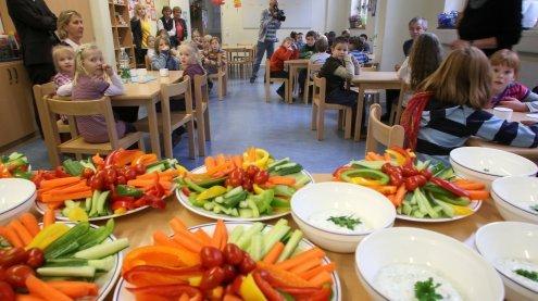 Gesundes Kindergarten- und Schul-Essen: Wien auf 1. Platz