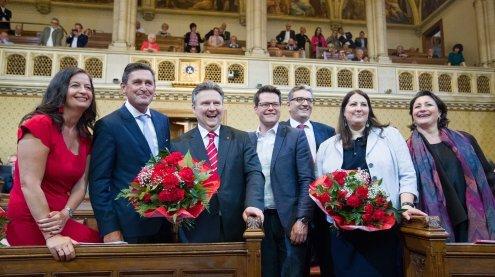 Vertrauensvorschuss für Teamum Wiener Bürgermeister Ludwig