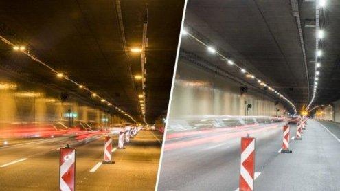 Kaisermühlentunnel: Mehrere Sperren in beide Fahrtrichtungen