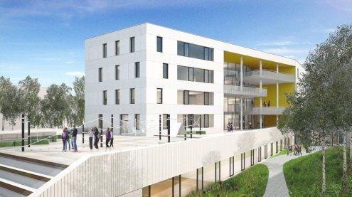 """Bau bis 2020: """"Inner-Favoriten"""" bekommt eine neue Mittelschule"""