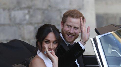 Royal Wedding: Hochzeitsparty mit besonderem Brautgeschenk