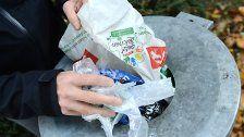 Zahl der Plastiksackerl in Ö um 20% gesunken