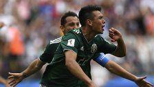 WM: Mexiko besiegt Deutschland mit 1:0