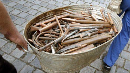 Kupferdiebe mit 40 Kilo Kupfer in Wiener Neustadt geschnappt
