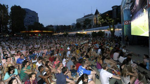 Wien: 250.000 Menschen aus den WM-Ländern im Fußball-Fieber